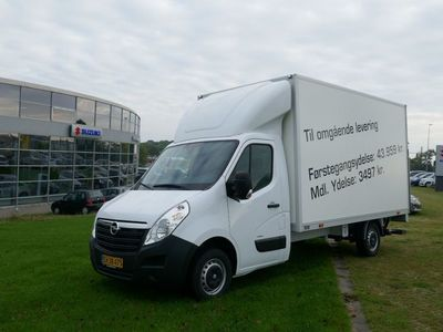 brugt Opel Movano 2,3 CDTi 145 Edition+ Crew Cab L3