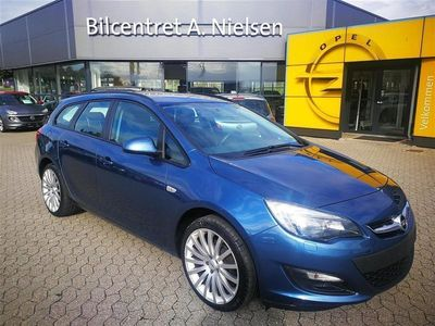 brugt Opel Astra Sports Tourer 1,4 Turbo Limited Start/Stop 140HK Stc 6g