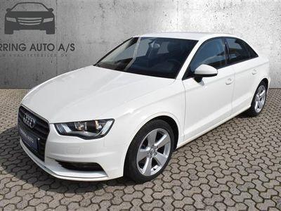 brugt Audi A3 1,4 TFSI Ambition S Tronic 150HK 7g Aut. - Personbil - hvid