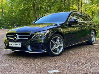 brugt Mercedes C200 2,0 AMG Line stc. aut. 4-M