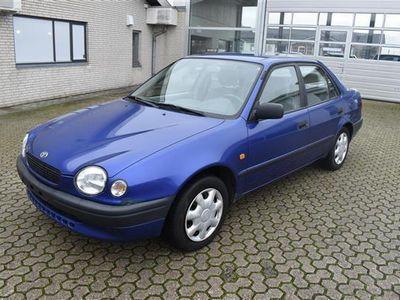 brugt Toyota Corolla 1,3 Linea Terra 86HK - Personbil - blå