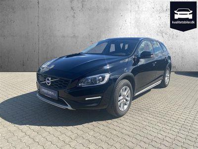 brugt Volvo V60 CC 2,0 D4 Momentum 190HK Stc 8g Aut. - Personbil - Sort