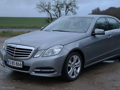 brugt Mercedes E220 CDI BE Aut. 170HK