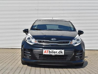 brugt Kia Rio 1,2 CVVT Attraction Plus 85HK 5d A+