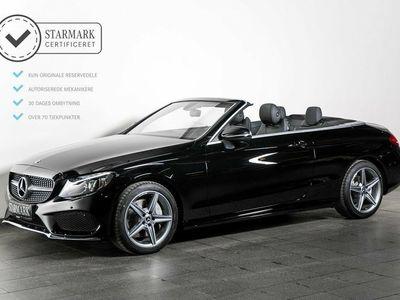 brugt Mercedes C300 2,0 Cabriolet aut.