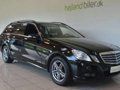 brugt Mercedes E200 2 CDi stc. aut. BE