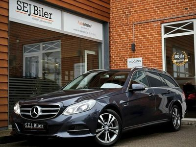 gebraucht Mercedes E220 1 BlueTEC Edition E stc. 170HK st.car aut
