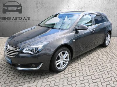 brugt Opel Insignia Sports Tourer 2,0 CDTI Edition Start/Stop 140HK Stc 6g - Personbil - gråmetal