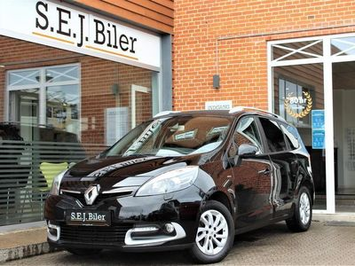 brugt Renault Grand Scénic 1,5 DCI Limited 110HK Van 6g A+