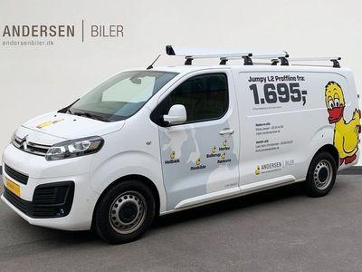 brugt Citroën Jumpy BHDi 120 L3N2 2.0 BlueHDi 120 hk Kassevogn