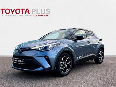 brugt Toyota C-HR 1,8 B/EL C-LUB Premium Multidrive S 122HK 5d Aut. A+++
