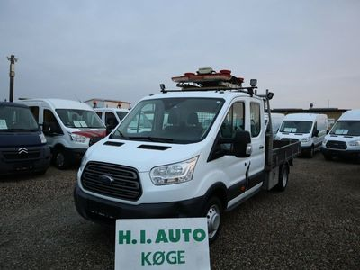 brugt Ford Transit 350 L4 Chassis 2,2 TDCi 155 Db.Kab Trend RWD