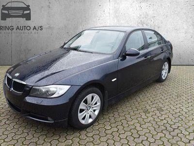 brugt BMW 320 i 2,0 150HK 6g - Personbil - Blå