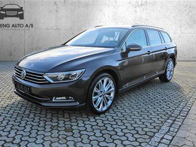 gebraucht VW Passat Variant 1,4 TSI BMT ACT Comfortline Plus DSG 150HK Stc 7g Aut. - Personbil - Brunmetal