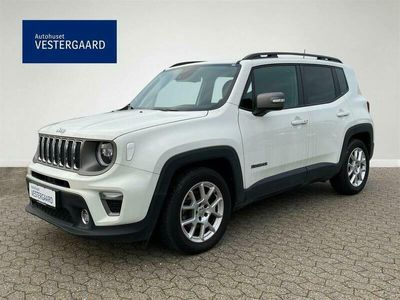 brugt Jeep Renegade 1,3 Turbo Limited First Edition DCT 150HK 5d 6g