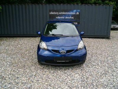 brugt Toyota Aygo 1,0 Plus Blue komfort