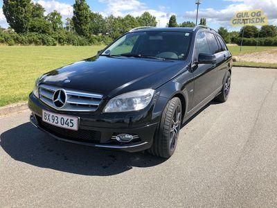 brugt Mercedes C220 2.2 avantgarde ekstra nedsat