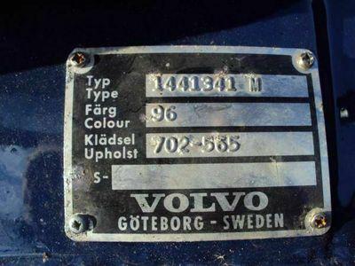 brugt Volvo 144 dl