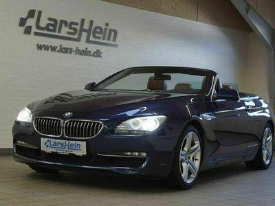brugt BMW 640 Cabriolet i aut.
