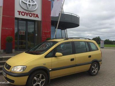 brugt Opel Zafira 1,8 Family 125HK