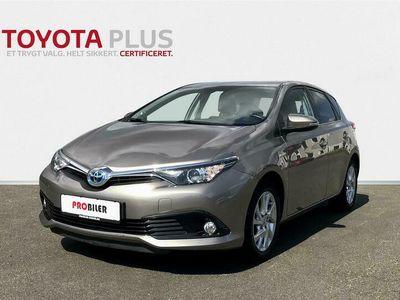 brugt Toyota Auris Hybrid 1,8 B/EL Comfort 136HK 5d Aut. A++