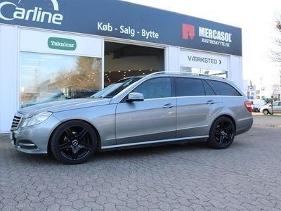 gebraucht Mercedes E220 2,1 CDI BlueEfficiency 170HK Stc Aut.
