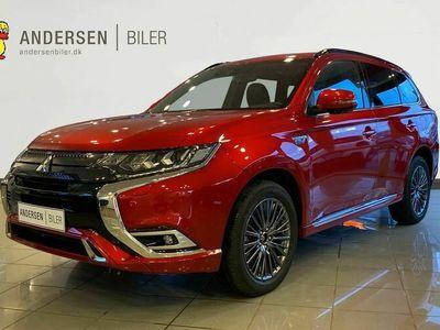 brugt Mitsubishi Outlander 2,4 PHEV Instyle 4WD 224HK 5d 6g Trinl. Gear