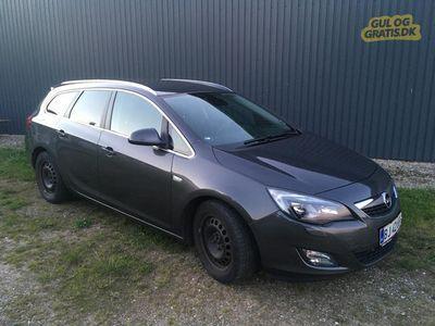 brugt Opel Astra 2.0 CDTI sport st.car