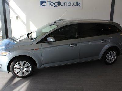 brugt Ford Mondeo TDCi 140 Titanium st.car