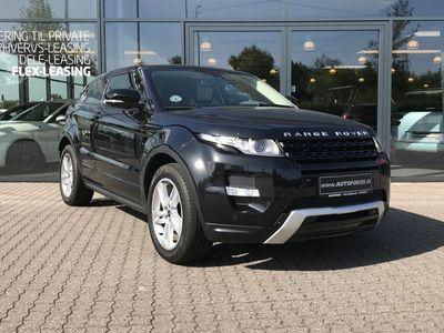 brugt Land Rover Range Rover evoque 2,2 SD4 Dynamic Coupé aut.