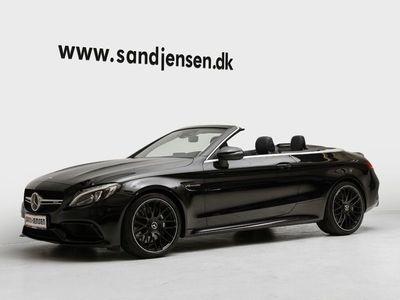 brugt Mercedes C63 AMG 4,0 AMG Cabriolet aut.