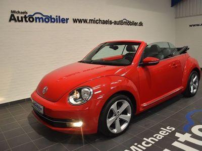 brugt VW Beetle The2,0 TDi 140 Design Cabriolet