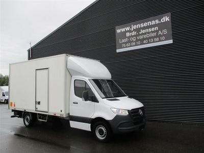 brugt Mercedes Sprinter 316 ALUKASSE/LIFT AUT, 2,1 CDI RWD 163HK Ladv./Chas. 2019