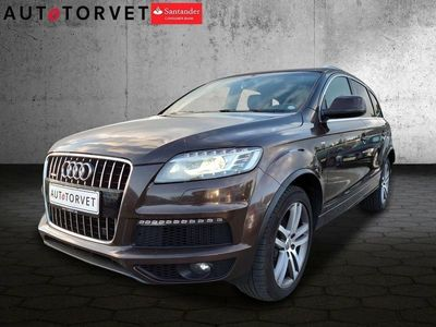 brugt Audi Q7 3,0 TDi 240 S-line quat. Tiptr. 7p