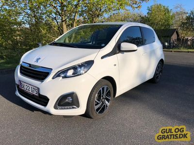 brugt Peugeot 108 White Edition