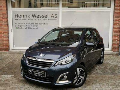 brugt Peugeot 108 1,0 e-Vti Intense 69HK 5d A++