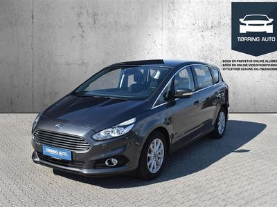 brugt Ford S-MAX 2,0 TDCi Titanium 180HK 6g - Personbil - Gråmetal