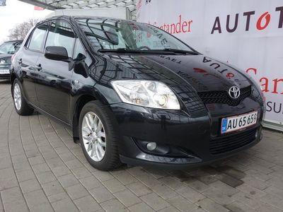 brugt Toyota Auris 2,0 D-4D DPF Linea Luna 124HK 5d 6g
