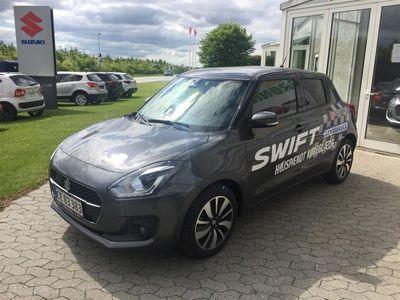 brugt Suzuki Swift 1,2 Dualjet 16V Exclusive mild-hybrid 90HK 5d