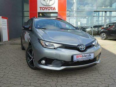 brugt Toyota Auris Touring Sports 1,8 Hybrid Prestige 136HK Stc Aut. A++