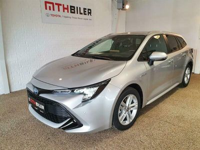 brugt Toyota Corolla Touring Sports 1,8 Hybrid H3 Smart Safety Plus E-CVT 122HK Stc Trinl. Gear