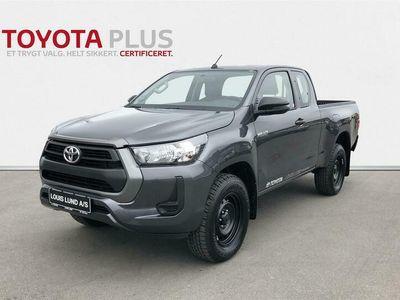 brugt Toyota HiLux Extra Cab 2,4 D-4D T2 AWD 150HK Pick-Up 6g D
