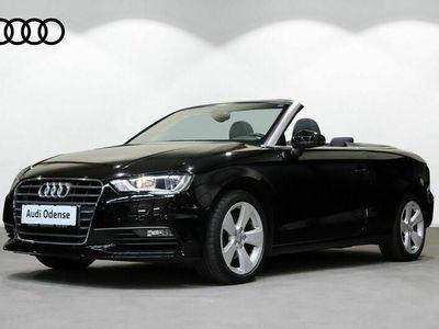 brugt Audi A3 Cabriolet 1,4 TFSi 125 Ambiente