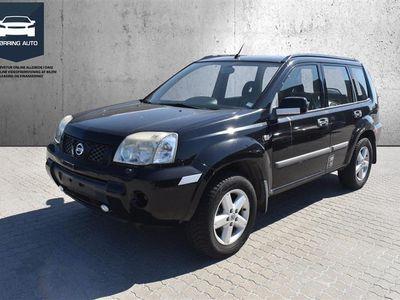 brugt Nissan X-Trail 2,2 DCi Comfort C/C 4x4 136HK Van 6g - Varebil - Sort