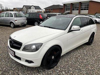 brugt Mercedes C200 d T 2,2 CDI Elegance 136HK Stc 6g