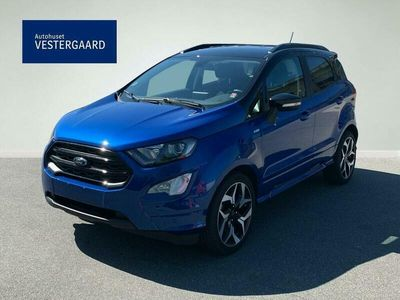 brugt Ford Ecosport 1,5 TDCi ST-Line Black 100HK 5d