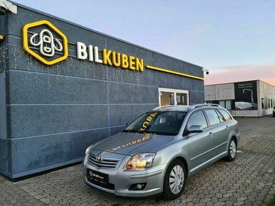 brugt Toyota Avensis 2,0 Sol+ stc.