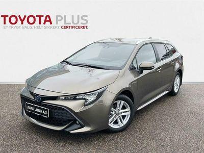 brugt Toyota Corolla Touring Sports 1,8 Hybrid H3 E-CVT 122HK Stc Trinl. Gear A++