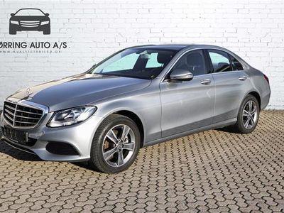brugt Mercedes C200 2,0 184HK 6g
