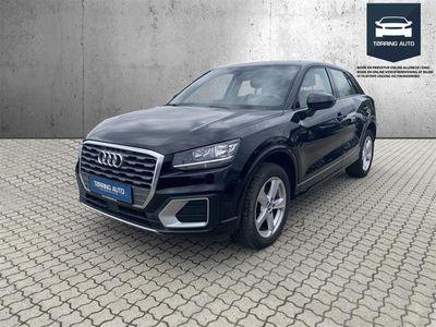 brugt Audi Q2 1,6 TDI Sport S Tronic 116HK 5d 7g Aut. - Personbil - Sort